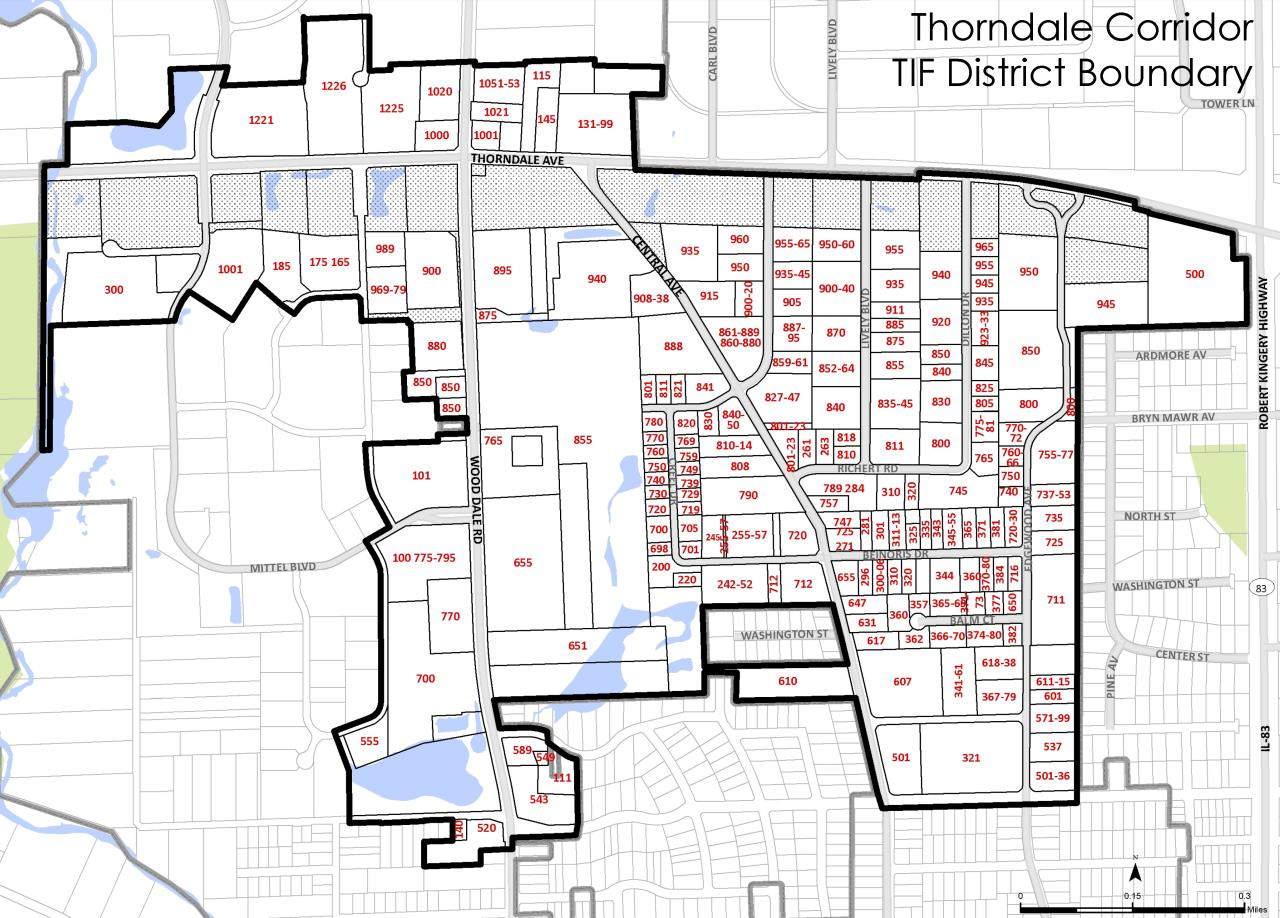 Approved TIF District Boundary