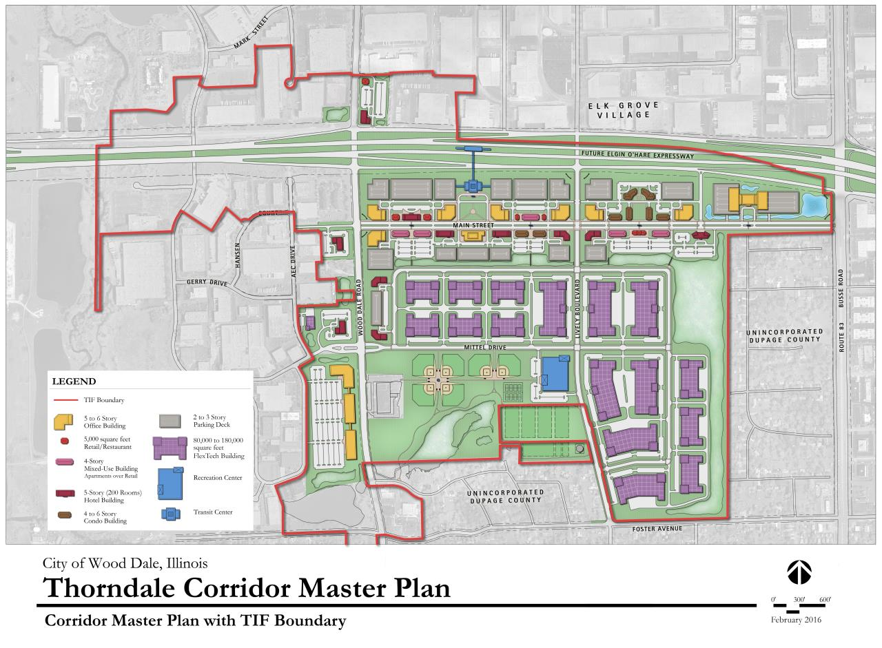 Thorndale Corridor Master Plan with TIF